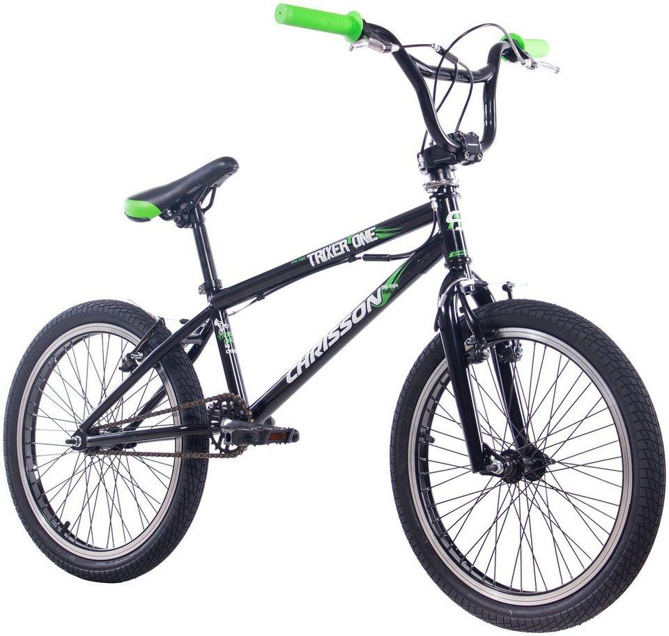 CHRISSON BMX »Trixier One«, 20 Zoll, 1 Gang, V-Bremsen in schwarz