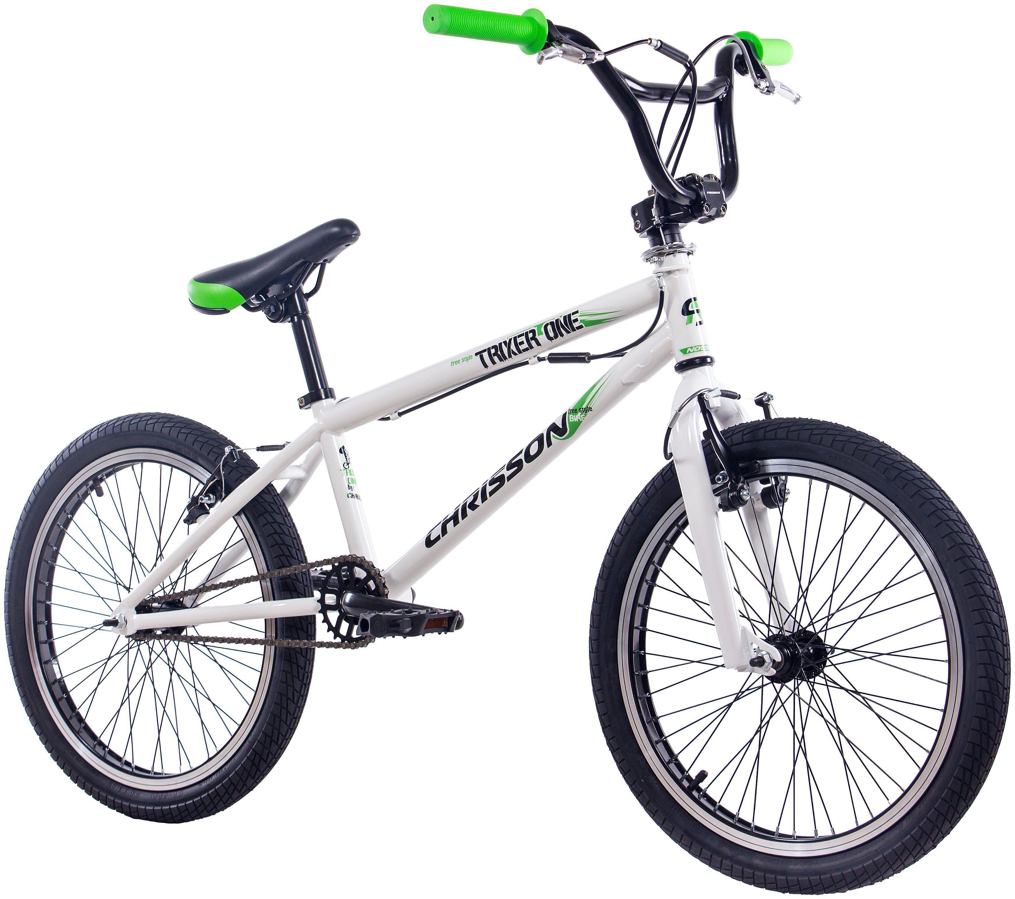 BMX »CHRISSON BMX TRIXER ONE«, 20 Zoll, 1 Gang, V-Bremsen