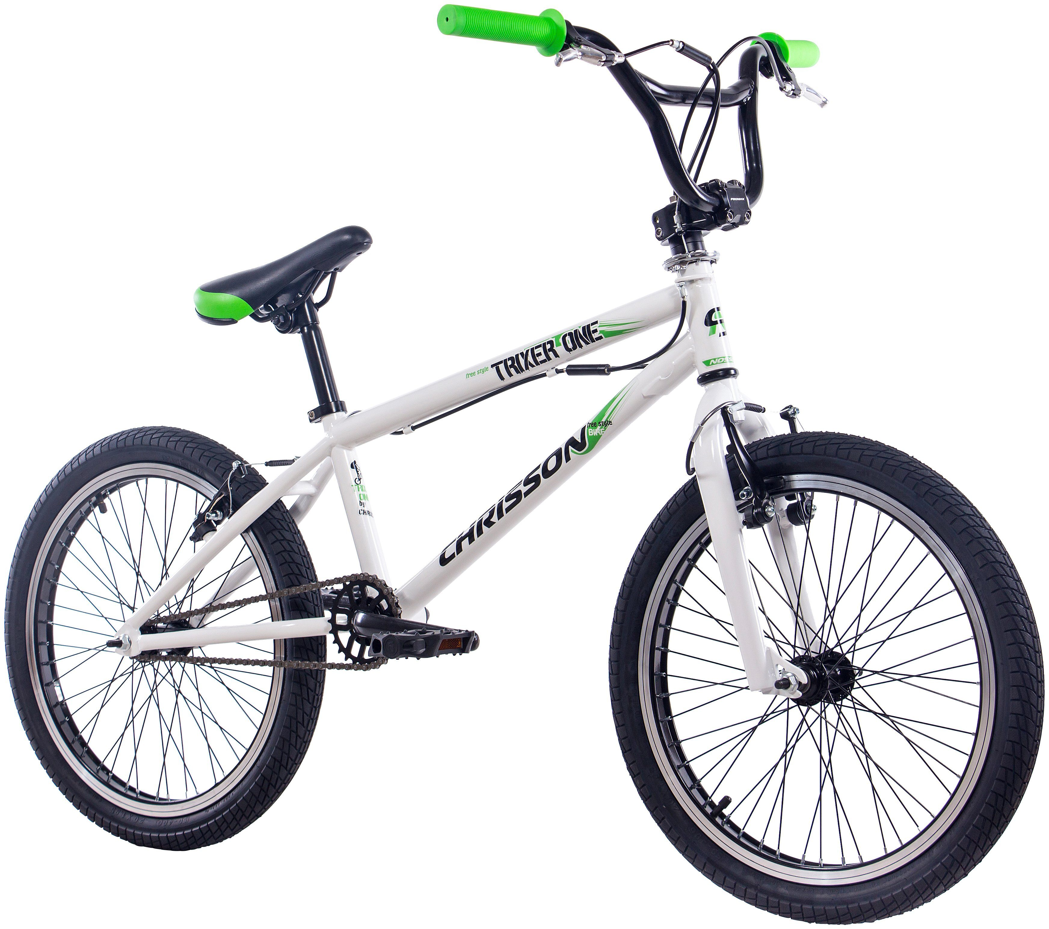 Chrisson BMX »CHRISSON BMX TRIXER ONE«, 20 Zoll, 1 Gang, V-Bremsen