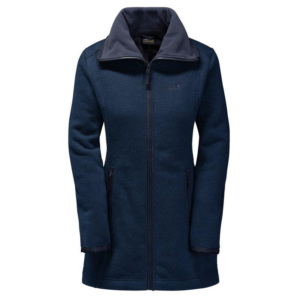 Jack Wolfskin Fleecemantel »SOLITARY MORNING COAT« in night blue