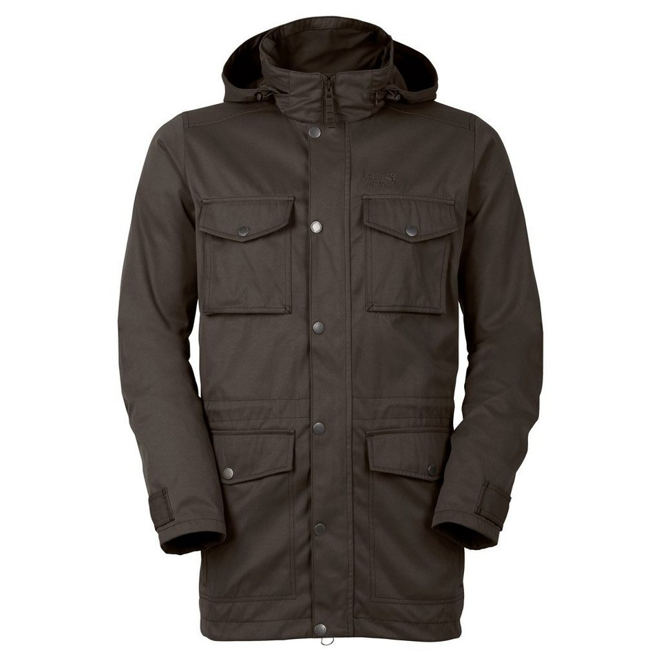 Jack Wolfskin Outdoorparka »TAIGA FOREST PARKA« 2 teilig in olive brown