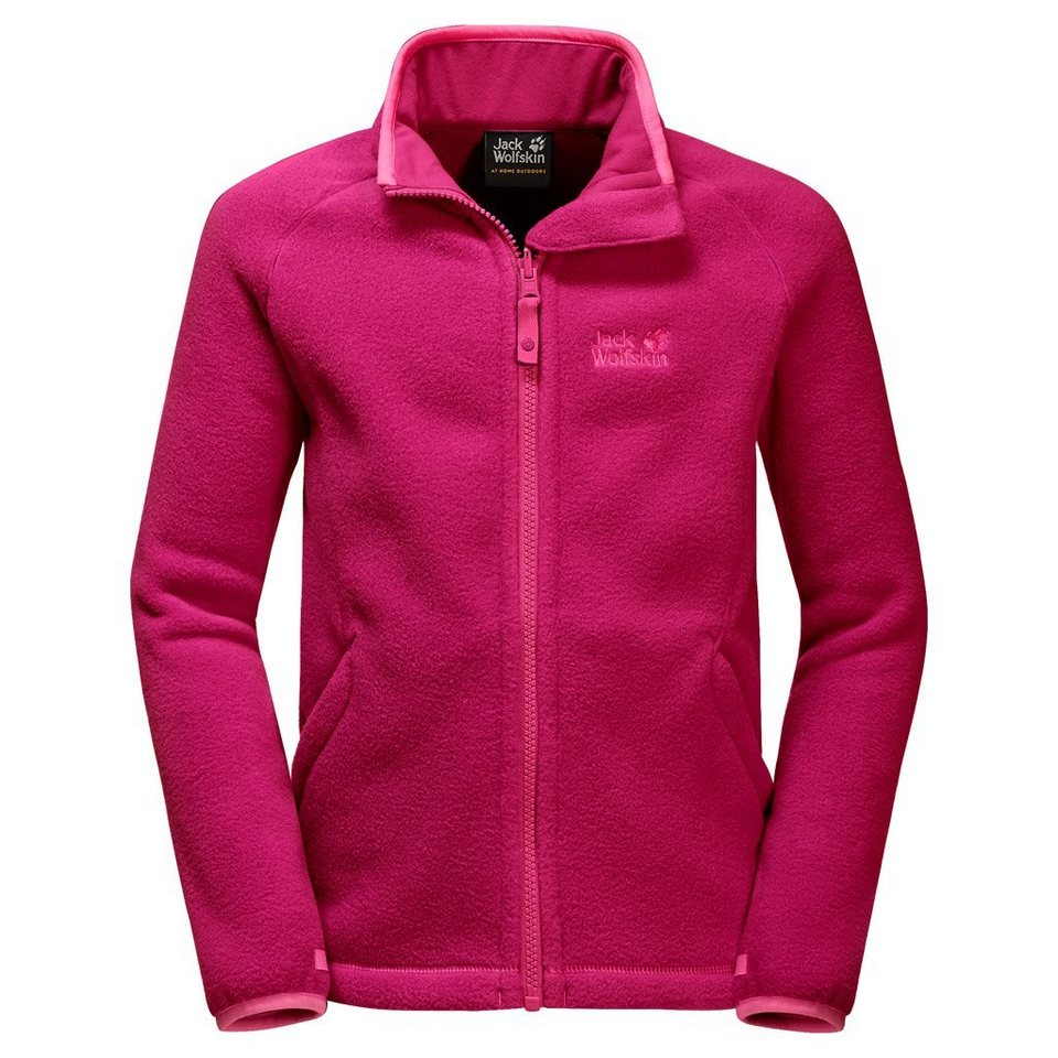 Jack Wolfskin Fleecejacke »THUNDER BAY KIDS« in azalea red