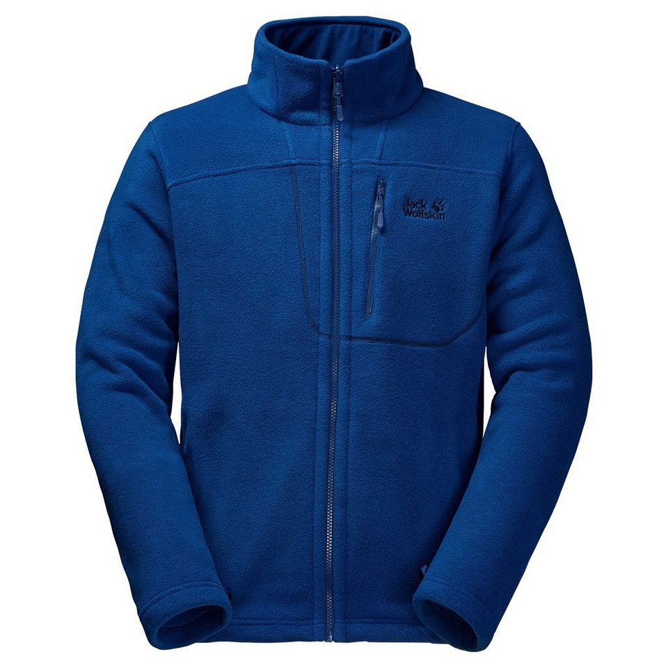 Jack Wolfskin Fleecejacke »VERTIGO MEN« in deep sea blue