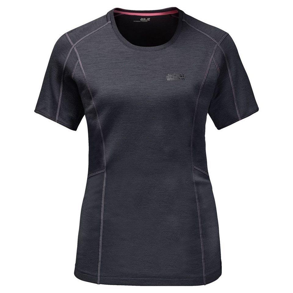 Jack Wolfskin Funktions-T-Shirt »ARCTIC T-SHIRT WOMEN« in ebony
