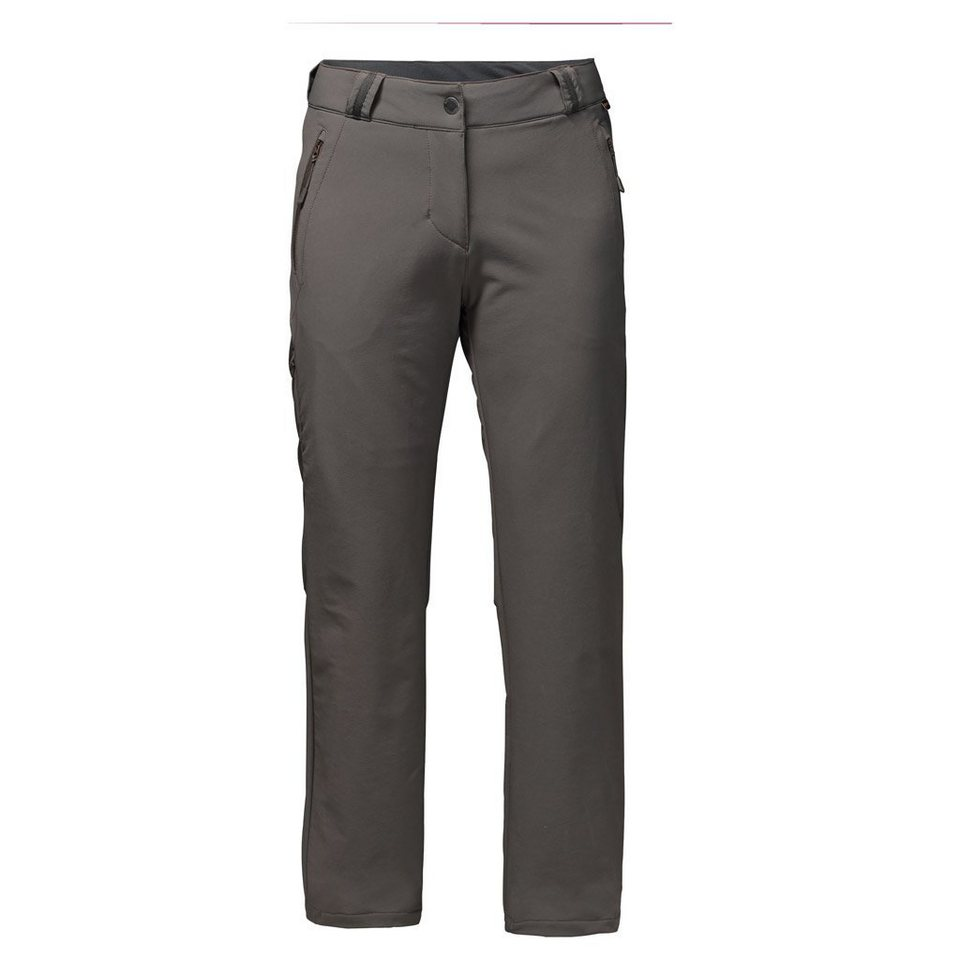 Jack Wolfskin Outdoorhose »ACTIVATE THERMIC PANTS WOMEN« in olive brown
