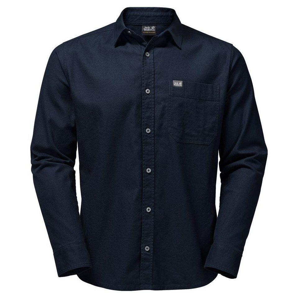 Jack Wolfskin Outdoorhemd »RIVER SHIRT« in night blue