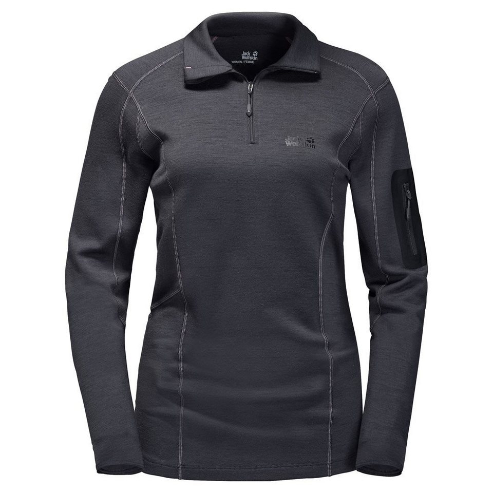 Jack Wolfskin Funktionsshirt »ARCTIC HALF ZIP WOMEN« in ebony