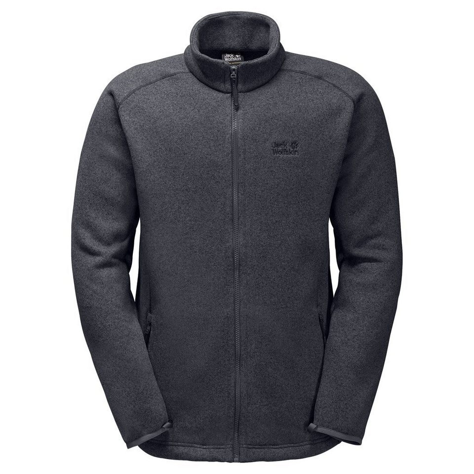 Jack Wolfskin Fleecejacke »CARIBOU ALTIS MEN« in ebony