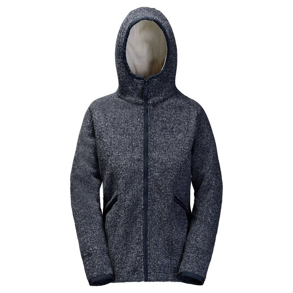Jack Wolfskin Fleecejacke »MILTON JACKET WOMEN« in night blue