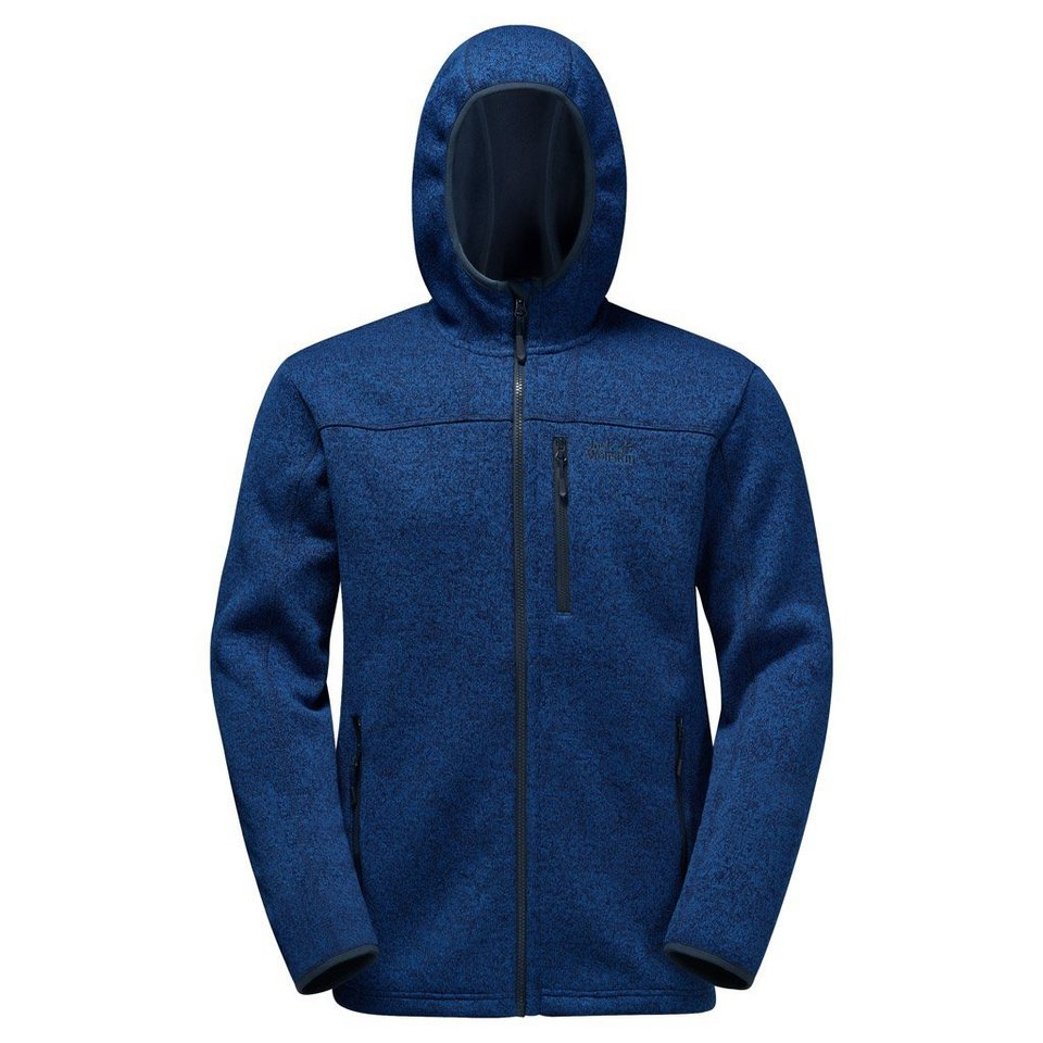 Jack Wolfskin Fleecejacke »NORRLAND« in deep sea blue