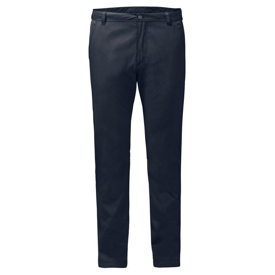 Jack Wolfskin Outdoorhose »EAGLE ROAD PANTS MEN« in night blue