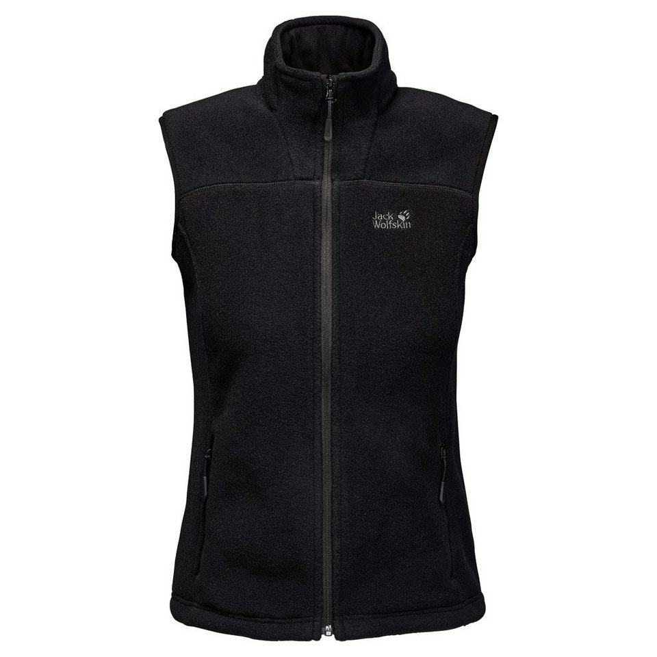 Jack Wolfskin Fleeceweste »VERTIGO VEST WOMEN« in black