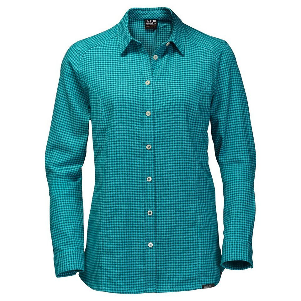 Jack Wolfskin Outdoorbluse »SHORE LINE SHIRT« in icy water checks