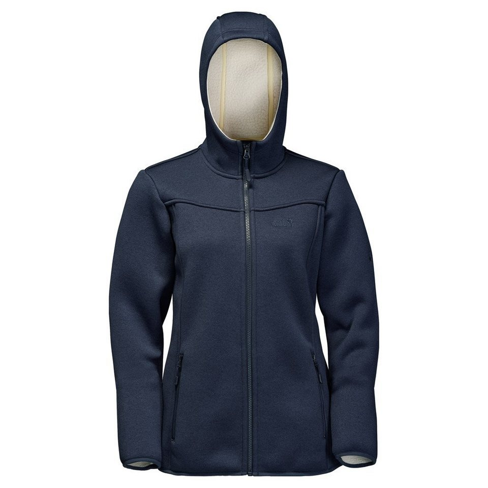 Jack Wolfskin Fleecejacke »TERRA NOVA BAY WOMEN« in night blue