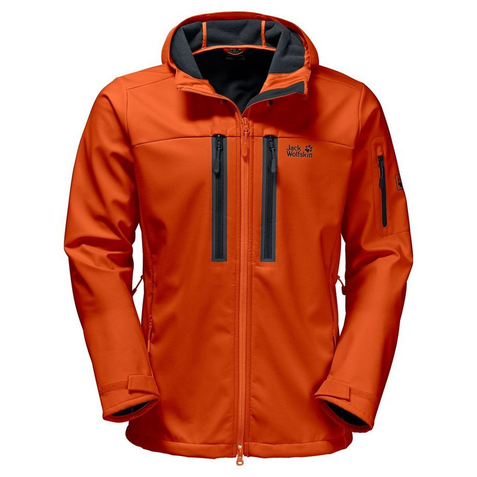 Jack Wolfskin Softshelljacke »NORTHERN STAR« in dark satsuma