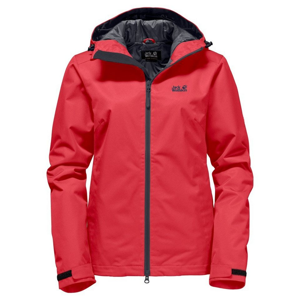 Jack Wolfskin Outdoorjacke »CHILLY MORNING WOMEN« in hibiscus red