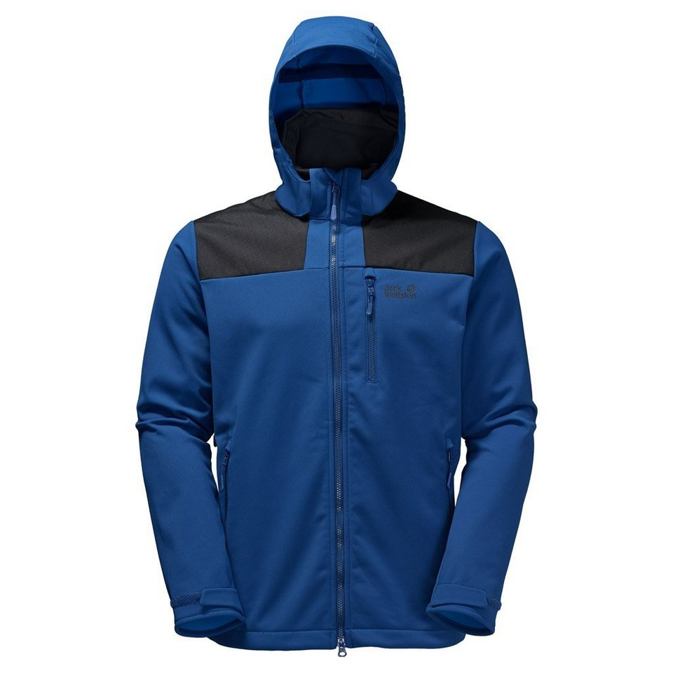 Jack Wolfskin Softshelljacke »SNOW CLIFF« in deep sea blue