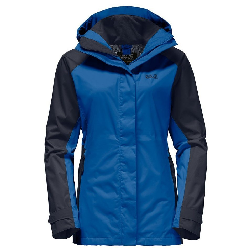 Jack Wolfskin Outdoorjacke »NORTH SLOPE FLEX WOMEN« in azure blue