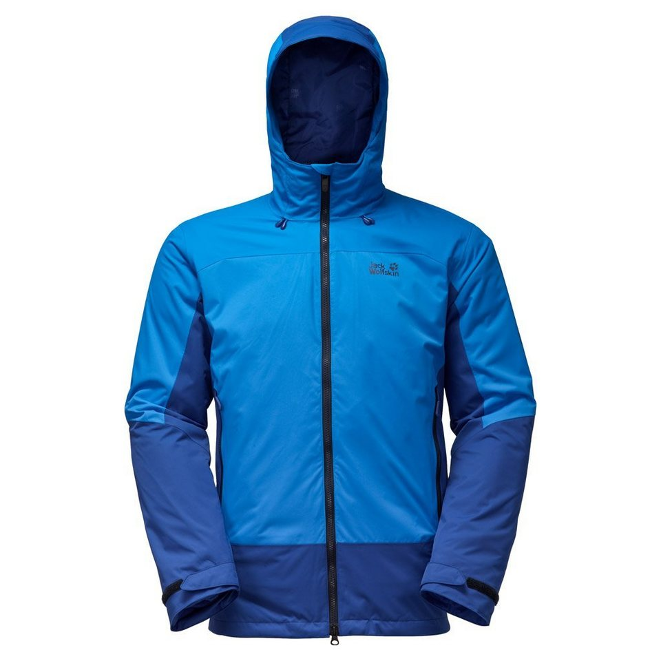 Jack Wolfskin Outdoorjacke »DISCOVERY COVE MEN« 2 teilig in brilliant blue