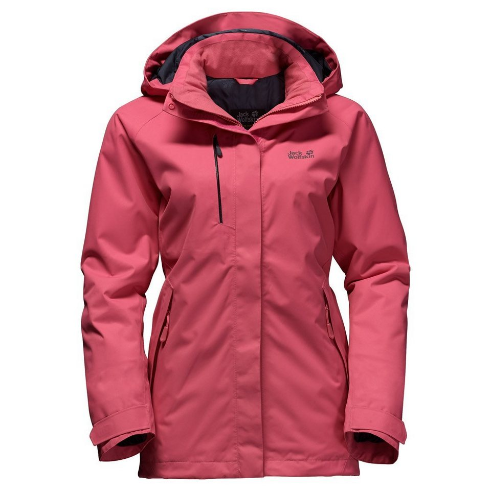 Jack Wolfskin Outdoorjacke »NORTHERN EDGE WOMEN« in rosebud