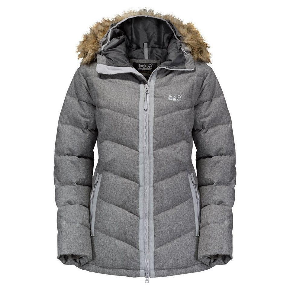 Jack Wolfskin Daunenjacke »BAFFIN BAY JACKET WOMEN« in alloy