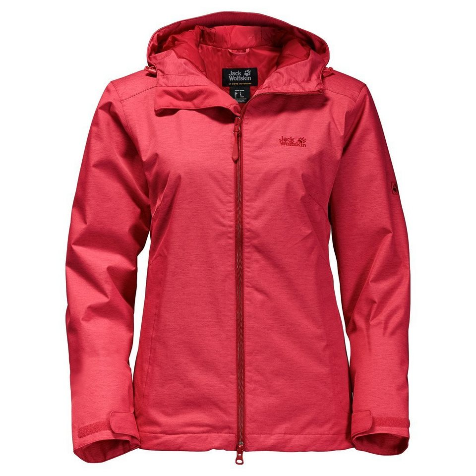Jack Wolfskin Outdoorjacke »NORTHERN SKY WOMEN« in hibiscus red
