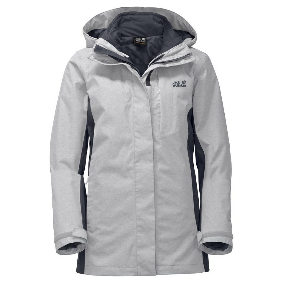 Jack Wolfskin Outdoorjacke »VIKING SKY WOMEN« 2 teilig in grey haze