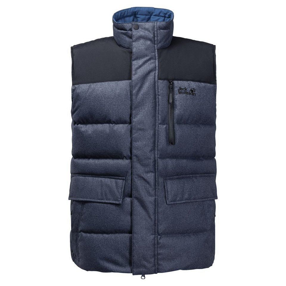 Jack Wolfskin Daunenweste »BAFFIN BAY VEST MEN« in night blue