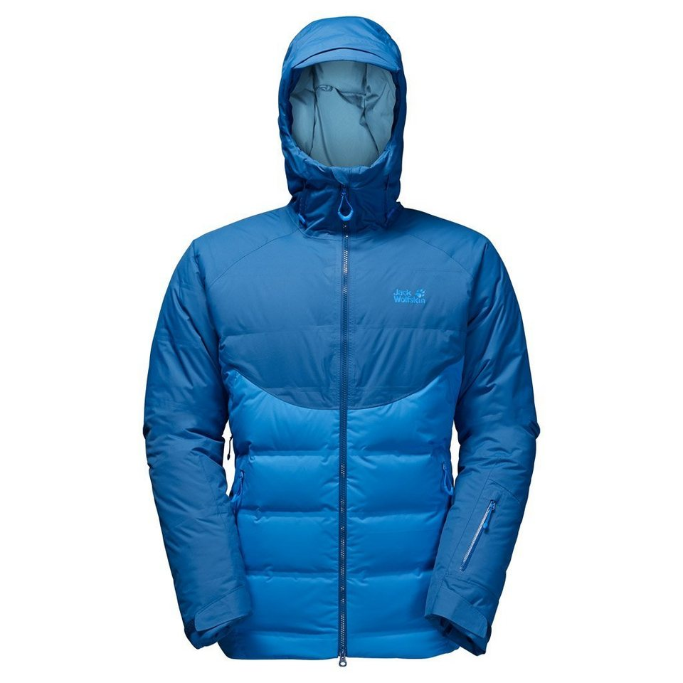 Jack Wolfskin Daunenjacke »TEXAPORE DOWNSHELL TEC MEN« in brilliant blue