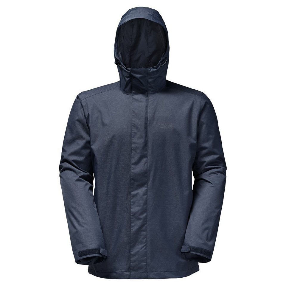 Jack Wolfskin Outdoorjacke »BEERENBERG SKY MEN« 2 teilig in night blue