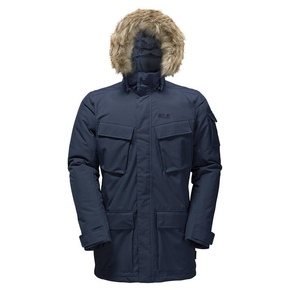 Jack Wolfskin Outdoorparka »GLACIER CANYON PARKA« in night blue