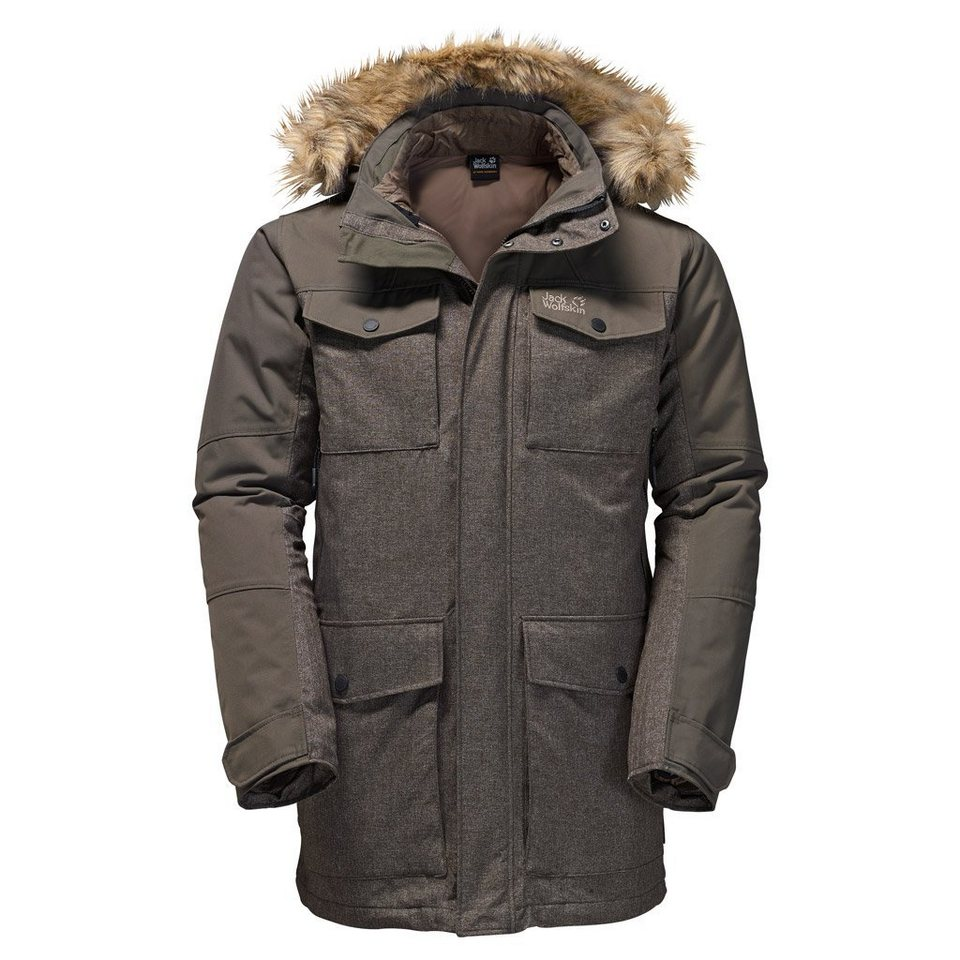 Jack Wolfskin Outdoorjacke »GRANITE CLIFF« 2 teilig in olive brown