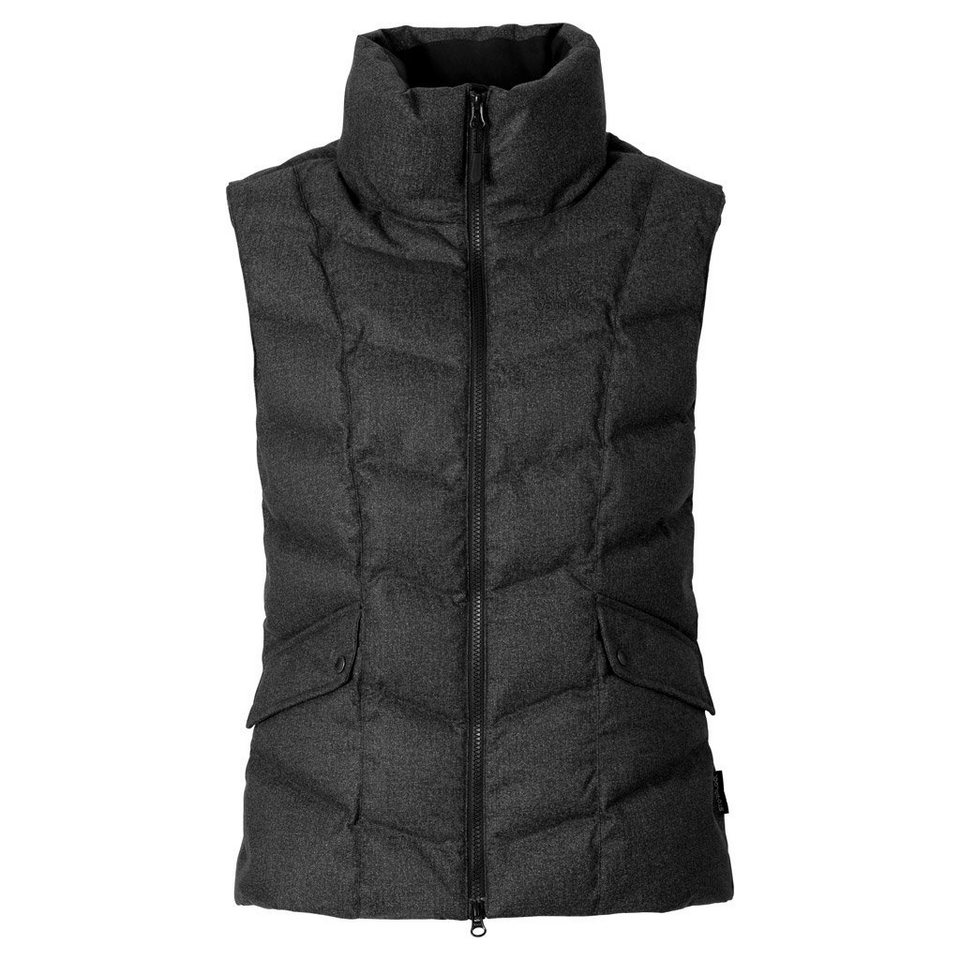 Jack Wolfskin Daunenweste »BAFFIN BAY VEST WOMEN« in black