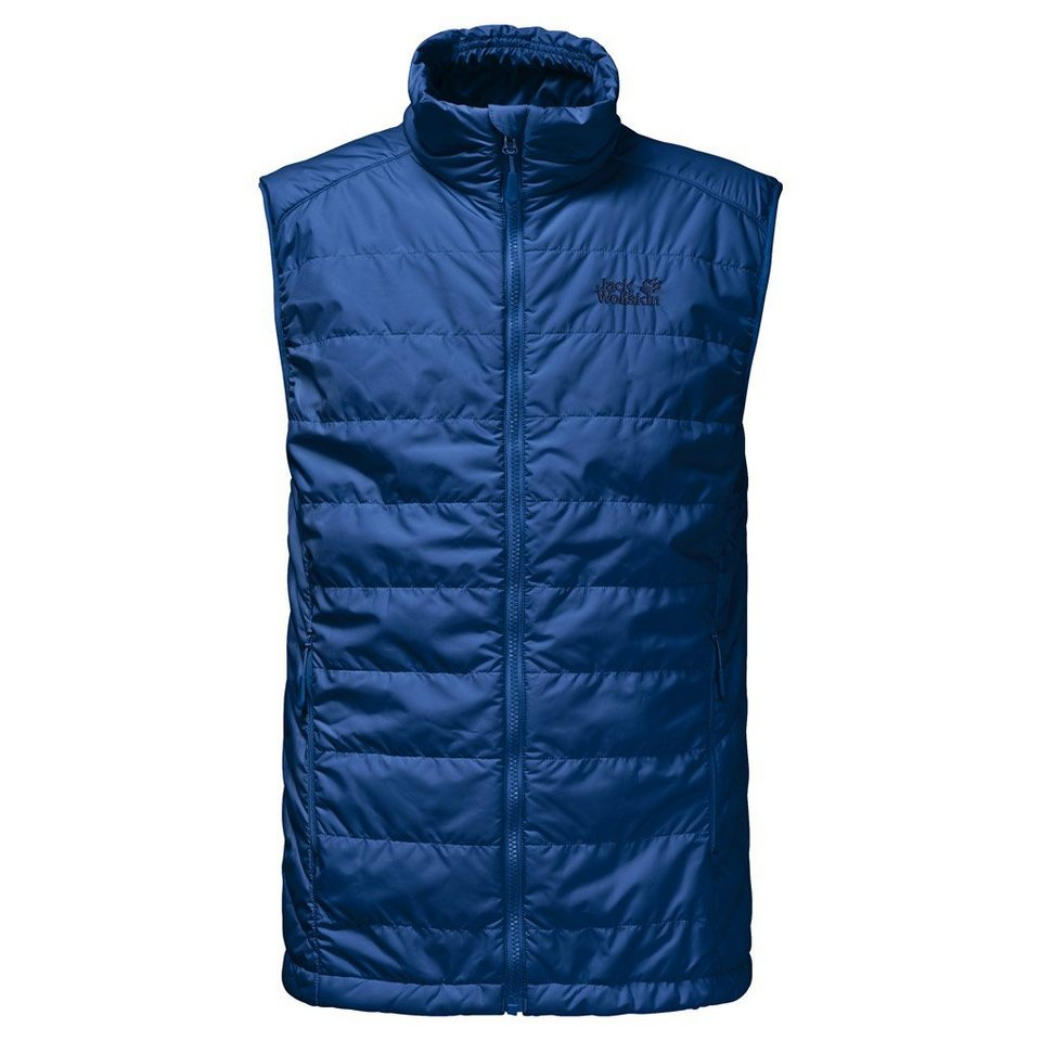 Jack Wolfskin Outdoorweste »GLEN VEST MEN« in deep sea blue