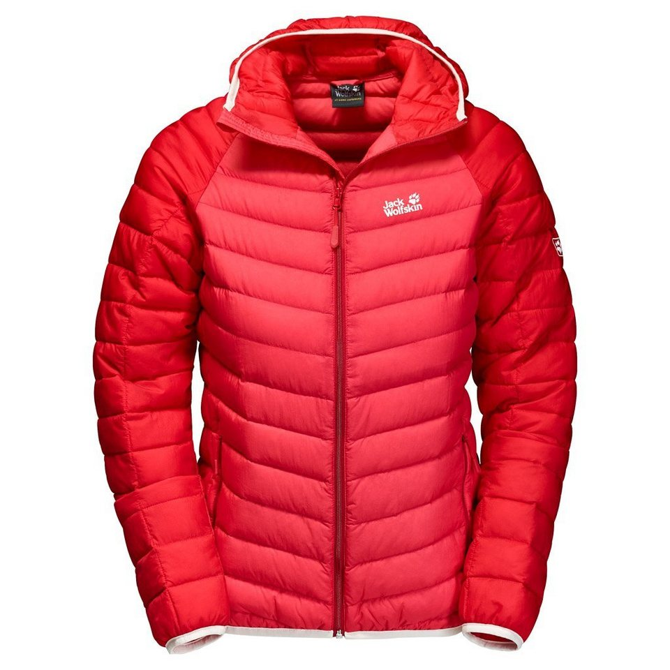 Jack Wolfskin Outdoorjacke »ZENON STORM WOMEN« in hibiscus red