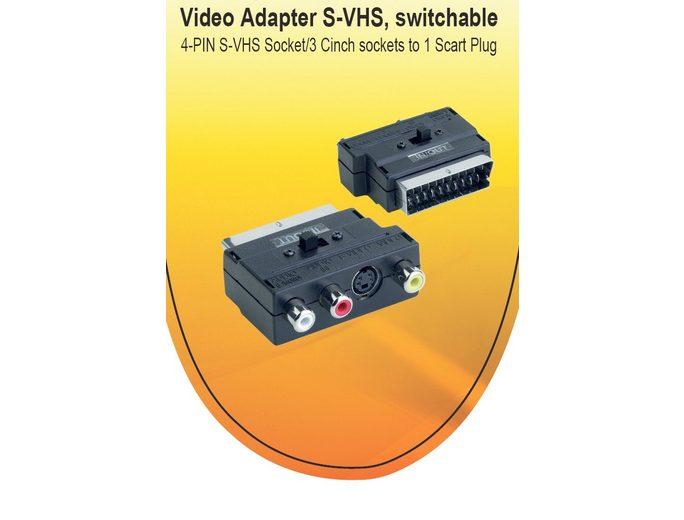 V7 TV/Video/Audio »V7 ADAPTER SCART/VIDEO BLACK«