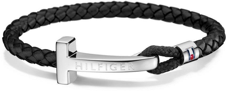 Tommy Hilfiger Armband, »Men's Casual, 2700868« in silberfarben-schwarz