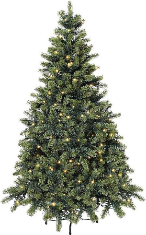 Tannenbaum Lichterkette Led.Künstlicher Weihnachtsbaum Mit Led Lichterkette Otto