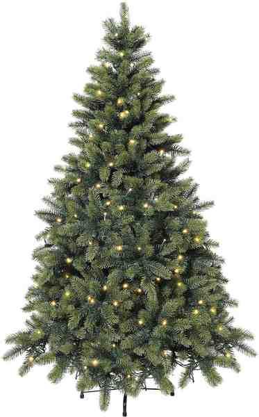 Premium Tannenbaum mit LED-Lichterkette