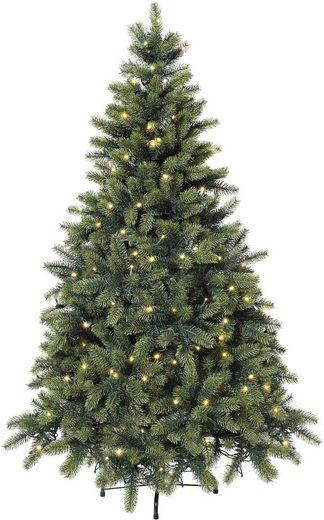 k nstlicher weihnachtsbaum mit led lichterkette otto. Black Bedroom Furniture Sets. Home Design Ideas
