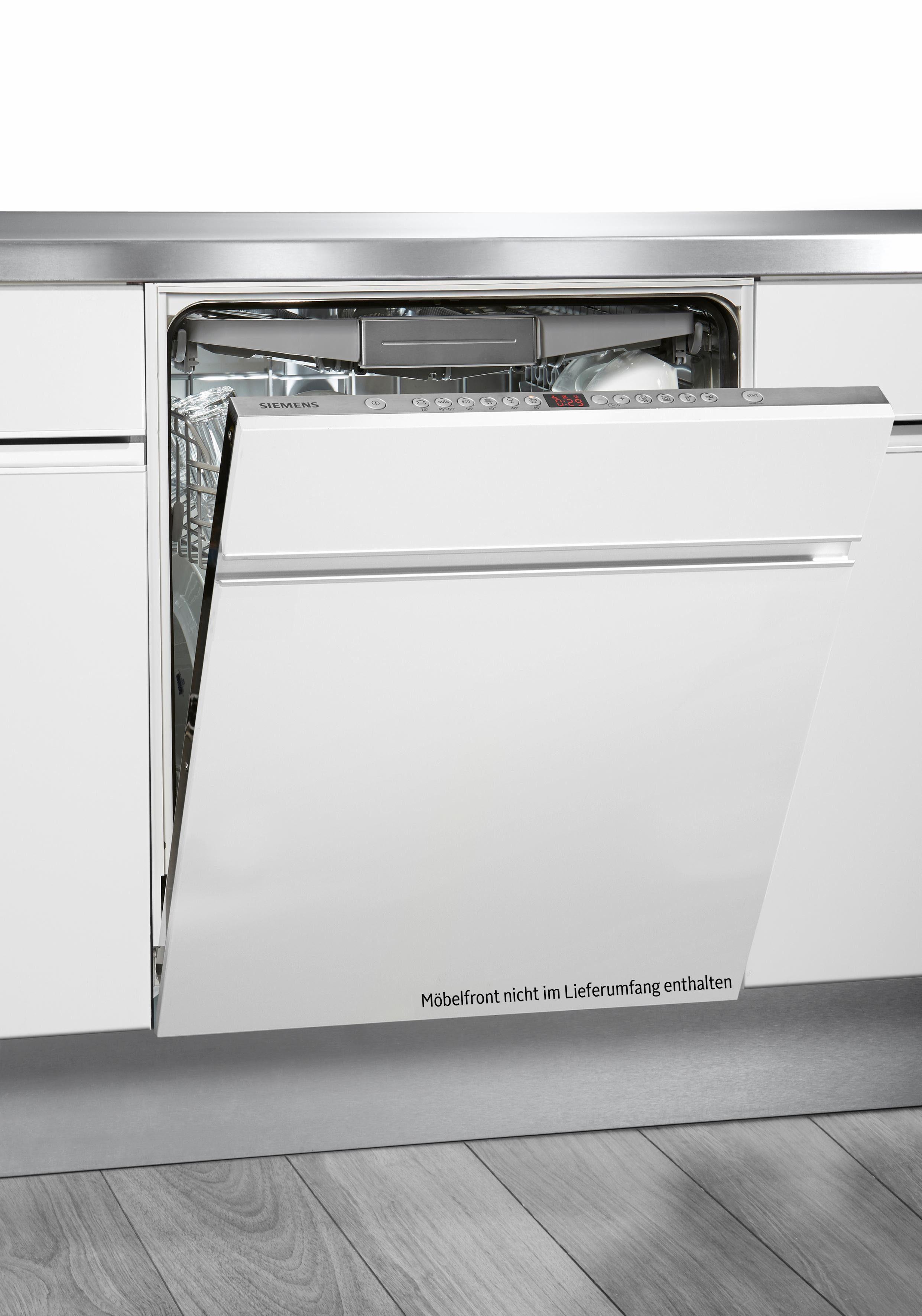 SIEMENS Vollintegrierbarer Einbaugeschirrspüler iQ500 SN66P098EU, A+++, 9,5 Liter, 14 Maßgedecke