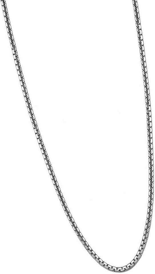Lotus Style Edelstahlkette »Halskette, Men in Black, LS 1682-1/3« in silberfarben