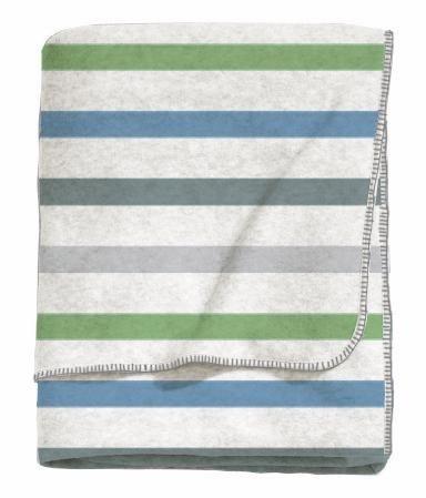 Wohndecke, Esprit, »Laure«, mit Streifen in blau-grün