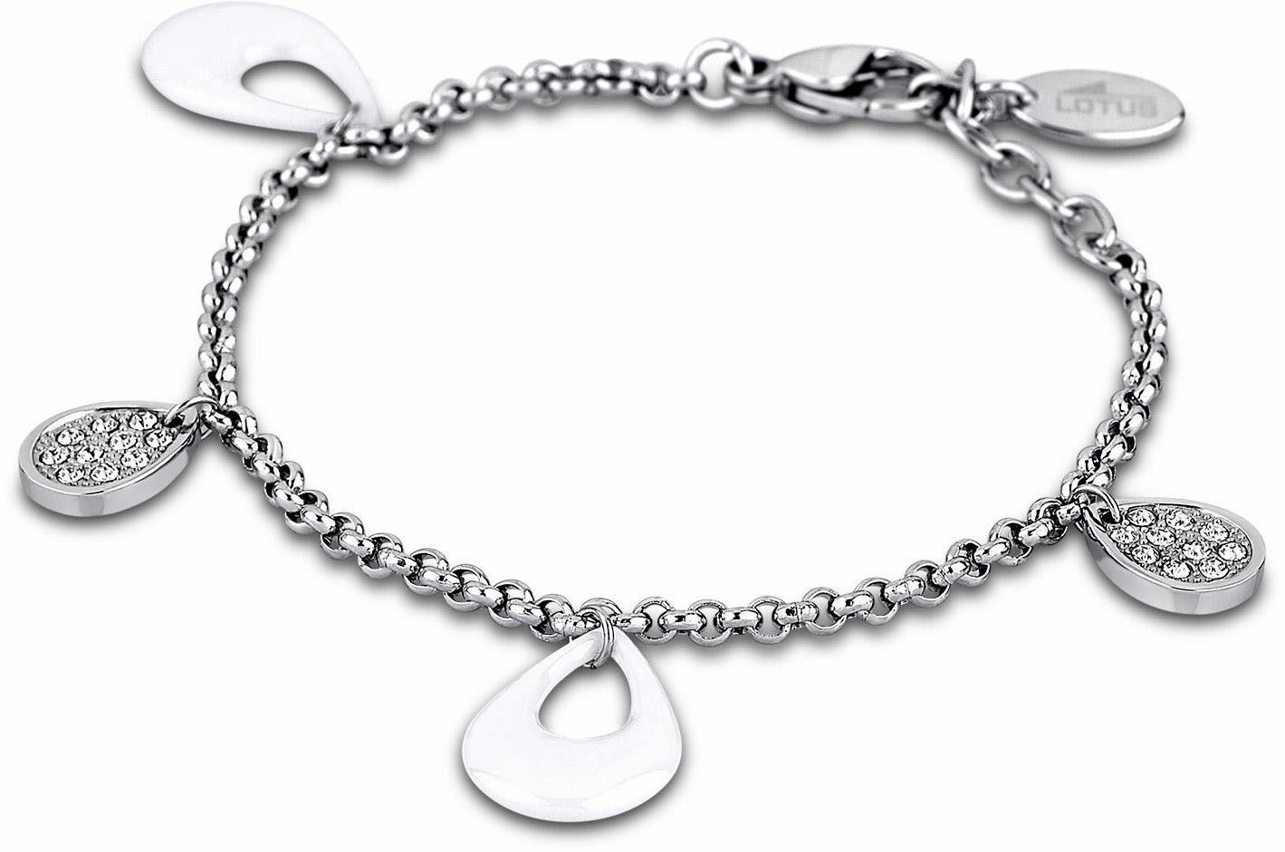 Lotus Style Armband »Armband, Ceramic, LS1706-2/1« mit Glassteinen