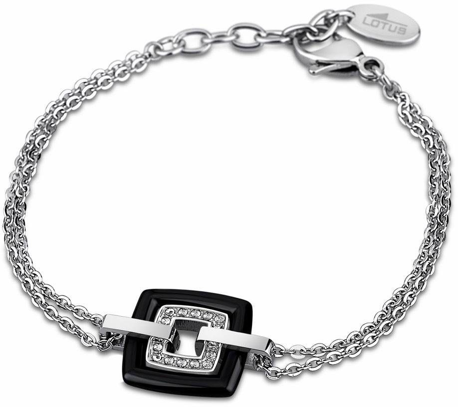 Lotus Style Armband »Armband, Ceramic, LS1705-2/2« mit Glassteinen