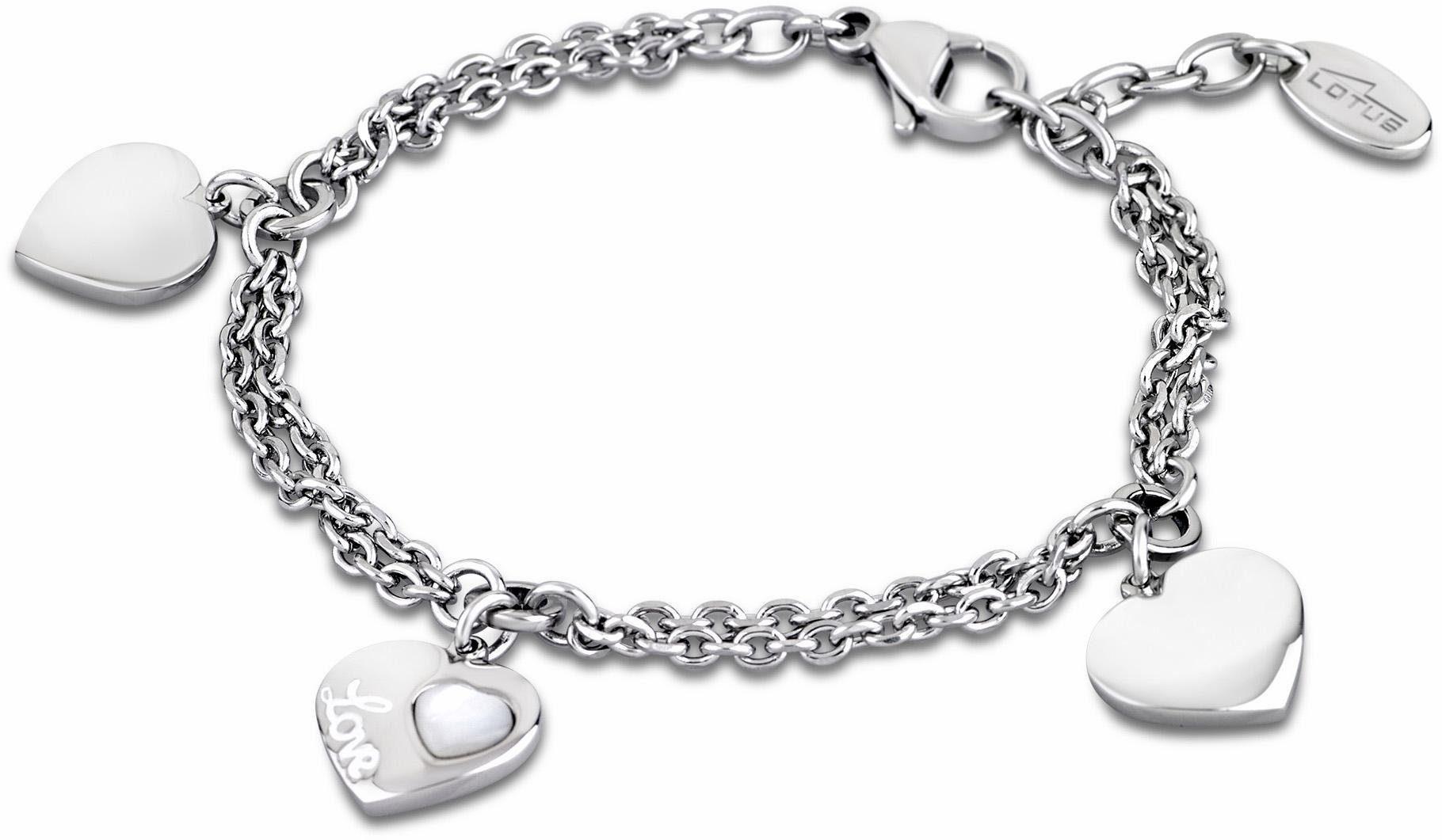 Lotus Style Armband »Armband, Woman´s Heart, LS1748-2/1«, mit Perlmutteinlage