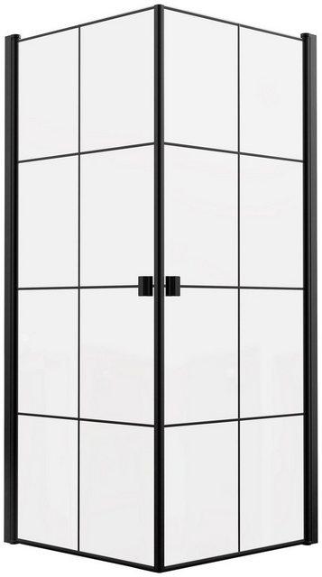 Duschen und Zubehör - Marwell Eckdusche »Clean line«, BxT 90x90 cm, Einscheibensicherheitsglas, mit Eckeinstieg  - Onlineshop OTTO
