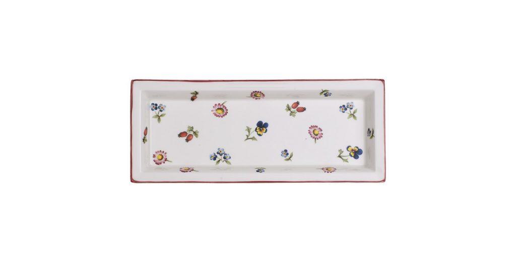 VILLEROY & BOCH Schale rechteckig 23,6x9,7cm »Petite Fleur Gifts«
