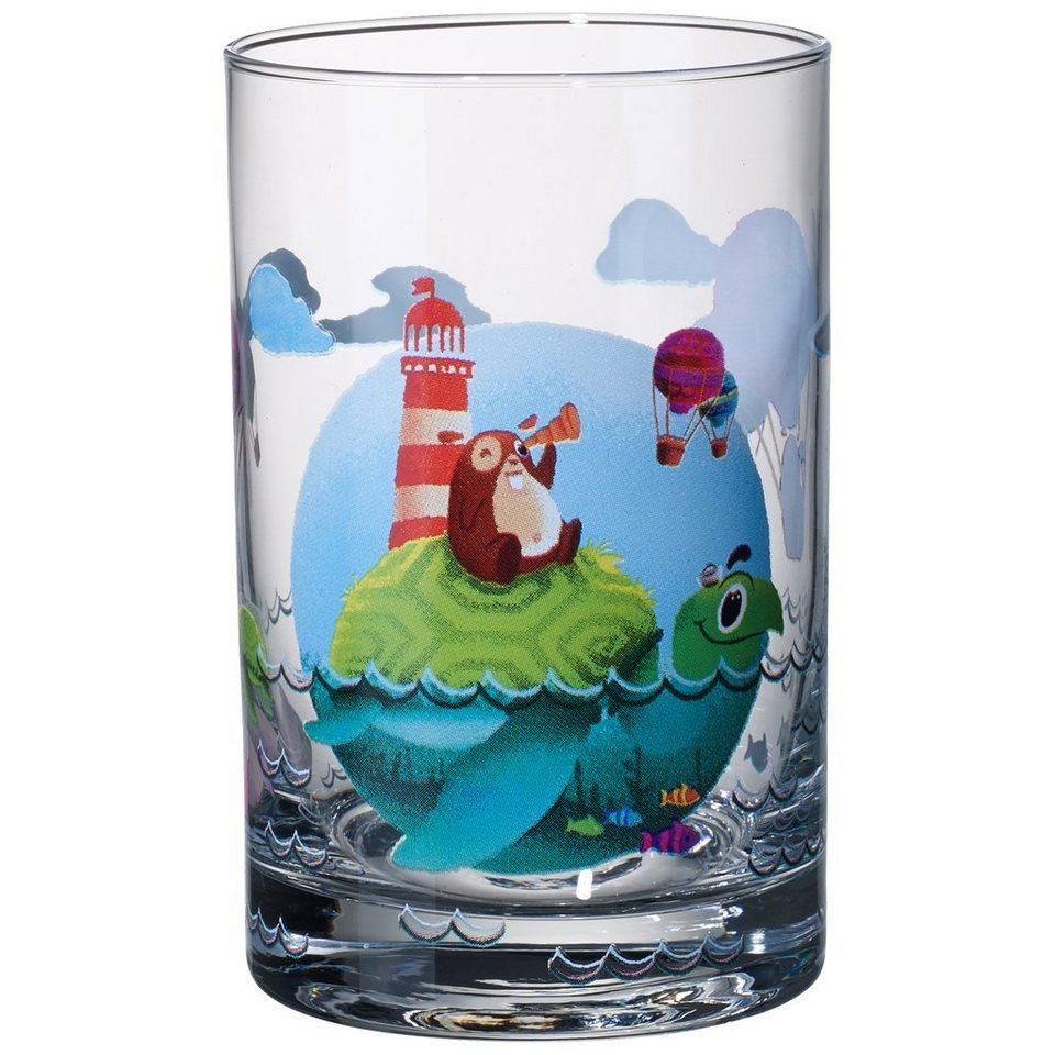 VILLEROY & BOCH Kinderglas 100mm »Chewy around the world« in Dekoriert