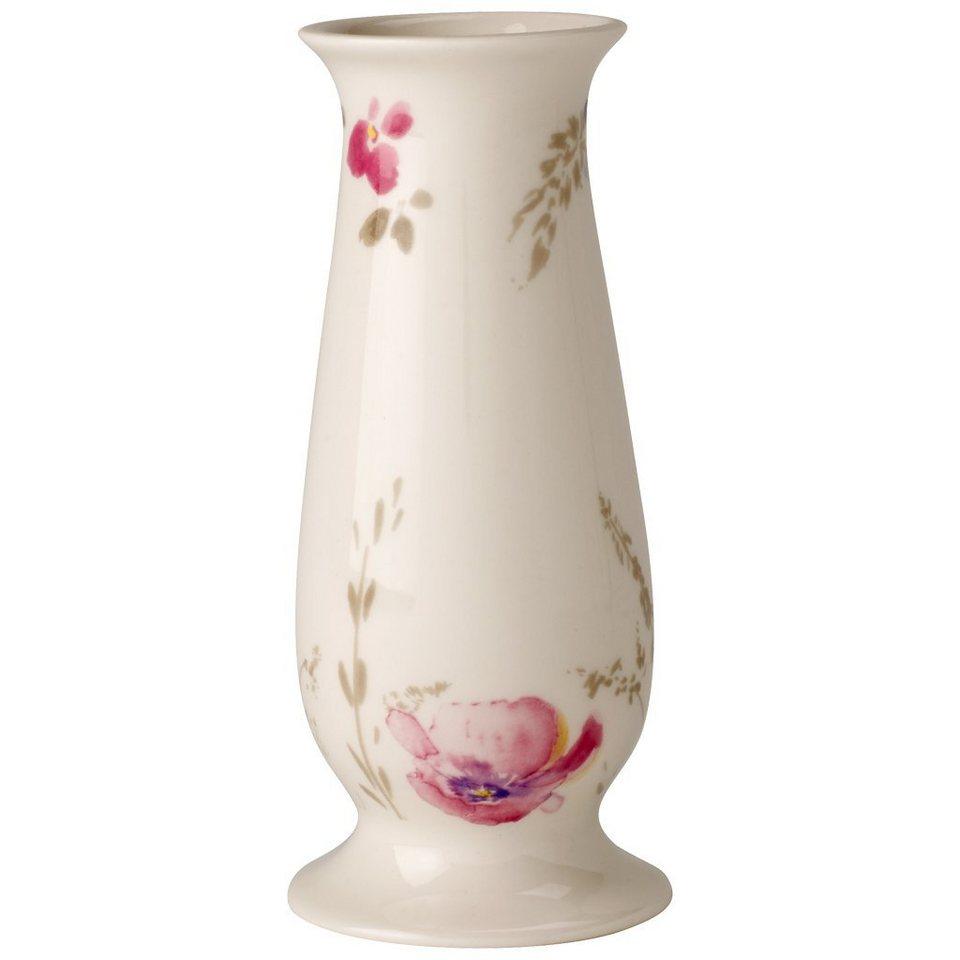 VILLEROY & BOCH Vase/Kerzenständer klein 15,5x6,7cm »Mariefleur Gris Gifts« in Dekoriert